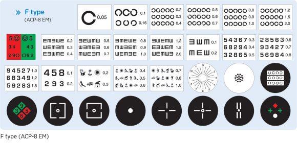 Chart projector  ACP-8EM