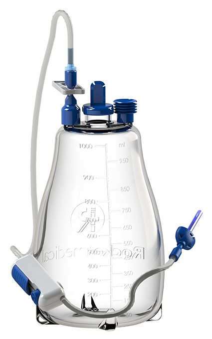 IPC Pleural & Peritoneal Catheter Insertion Set with plastic tunneller